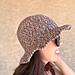 August Sun Hat pattern