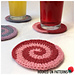 Candy Swirl Coasters pattern