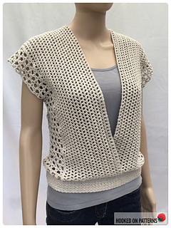 Leora Multi Style Summer Top - Open Front View