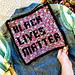 Black Lives Matter Square pattern