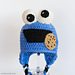 Cookie Monster Baby Hat pattern