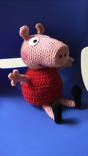 George Pig (Free Amigurumi Patterns) | Amigurumi pattern, George ... | 500x282