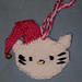 Hello Kitty Ornament with Tonttulakki pattern