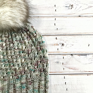 DK weight on Victorian Hair Pin colorway