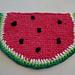 Watermelon Washcloth pattern