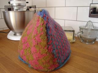 Ravelry: Fair Isle Tea Cosy pattern by Kim Hargreaves