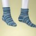 Bamboo Rib Socks pattern