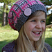 """""""Perfectly Plaid"""" Slouch Hat pattern"""
