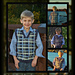 """Perfectly Plaid or Plain"" Young Boys Sweater Vest pattern"
