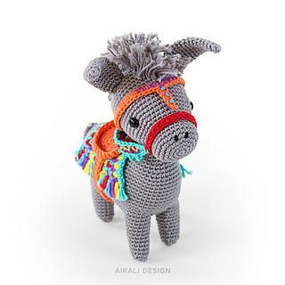 Amigurumi Donkey Pattern | Fantasia e Amigurumi | 320x320
