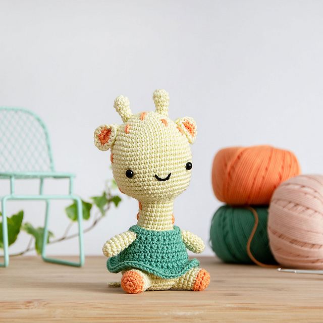 OakesMade's Baby Giraffe Amigurumi - Ravelry | 640x640