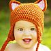 Fox Earflap hat pattern