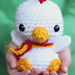 Baby Rooster pattern