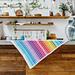 Chevron Rainbow Blanket pattern