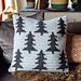 Fir Trees Cushion pattern