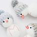 Snowman friends pattern