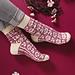 Emerging Roses Socks pattern