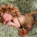 Jungle Lion Hat and Diaper Cover Set pattern