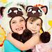Yin & Yang Siamese Kitty Hats pattern