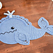 Joyce and Justin Whale Rug pattern