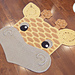 Rusty the Giraffe Rug pattern