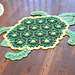 Bubbles the Turtle Rug pattern