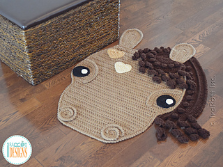 Chestnut The Loyal Horse Rug Pattern