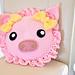 Pinky The Piggy Pillow pattern