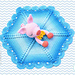 Pinky The Piggy Security Blanket pattern