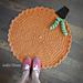Family Gathering Pumpkin Rug pattern