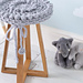 Elephant Nursery Stool Cover pattern