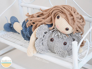 Amigurumi Elephant Pillow Pattern (Crochet) (With images ... | 240x320