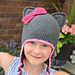 Sassy The Kitty Hat With Bow pattern