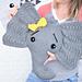 Josefina and Jeffery Elephant Pillow pattern