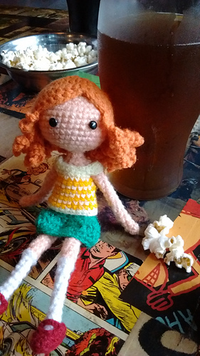 Putting Hair on Crocheted Dolls | | 500x281