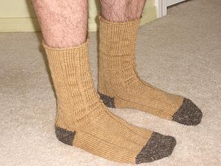 Men's Ribbed Sock