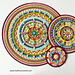 Trinity Mandalas pattern