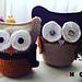 Owls (with Swarovsky Elements) pattern