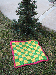 Weekend Knitting Checkerboard