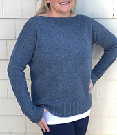 Single colour, deep hem, in size M2. See project notes for details.