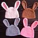 Easy Bunny Hat pattern