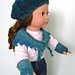 American Girl Doll Shawlette Accessory Set pattern