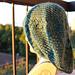 Spring Trellis Slouch Hat pattern