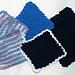 Seed Stitch Coasters pattern