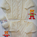 Sweater, Cardigan & Booties pattern