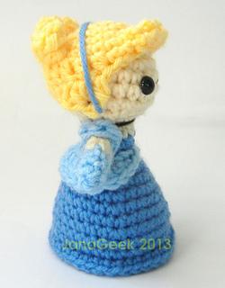 Cinderella Disney Princess Handmade Amigurumi Crochet Doll…   Flickr   320x250