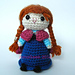 Snow Princess Nordic Amigurumi Crochet Doll pattern