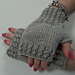 Twisted Rib Fingerless Gloves pattern