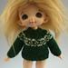 Yoked Fair-Isle Sweater for Pukifee or Lati Yellow pattern