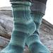 91793 Fleegle Heel Ragg Socks pattern